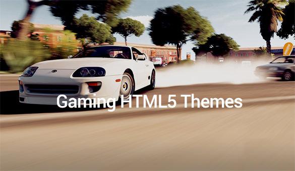 Gaming-HTML5-Themes
