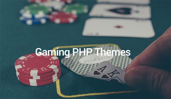 gaming php themes