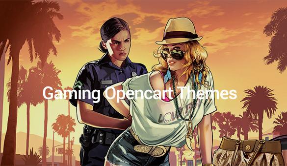 Gaming-Opencart-Themes