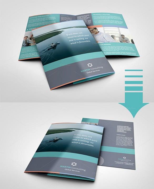 a5 half fold brochure