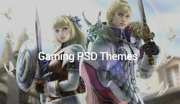 Gaming-PSD-Themes