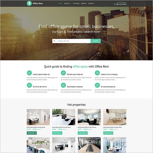 realtor web template