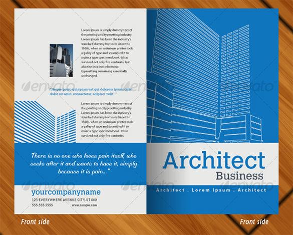 37 Half Fold Brochure Templates Free Amp Premium Templates