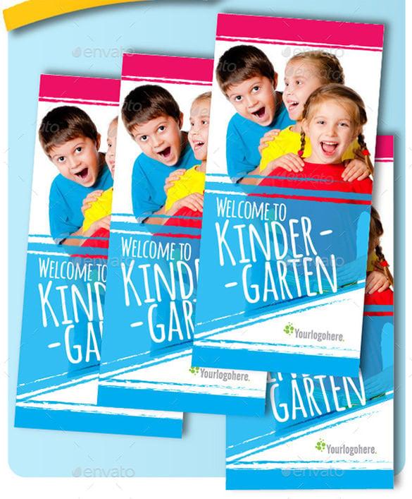 Elementary School Brochure Template: 29+ Kindergarten Brochure Templates