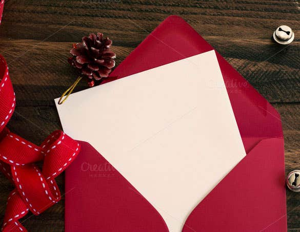 premium red envelope white note download