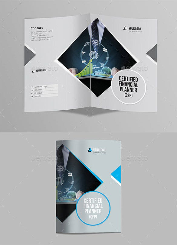 39 Half Fold Brochure Templates Free Psd Eps Ai Indesign Word