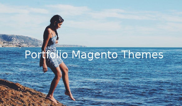 portfolio magento themes