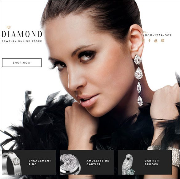 diamond shopify html5 theme