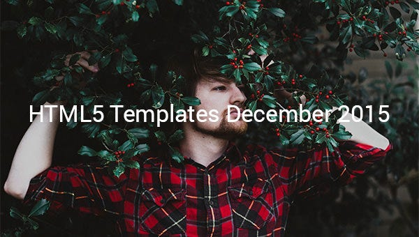 HTML5-Themes-&-Templates-Released-in-December-2015