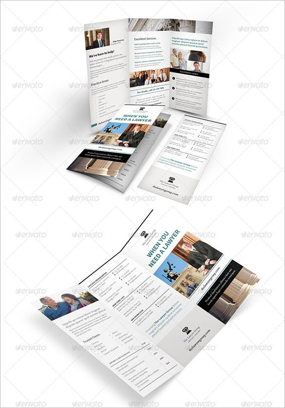 legality trifold brochure