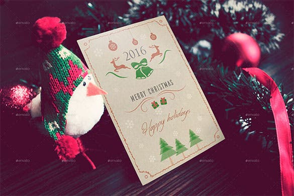 4 christmas greeting card template 2016 download