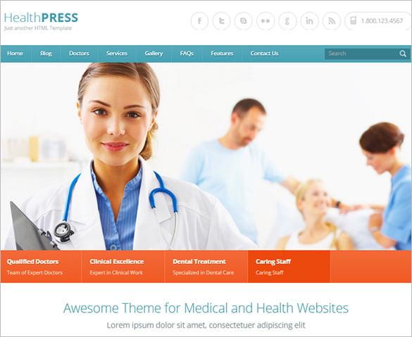 10+ Health Blog Themes & Templates | Free & Premium Templates