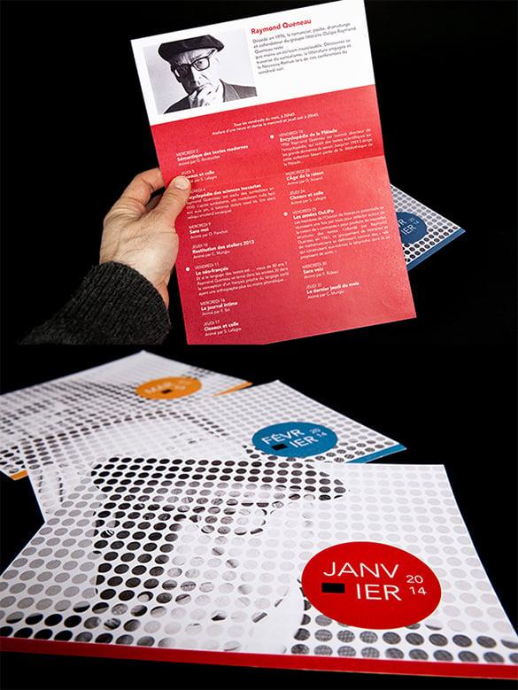 media library brochure