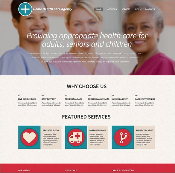 healthcare professionals html5 theme