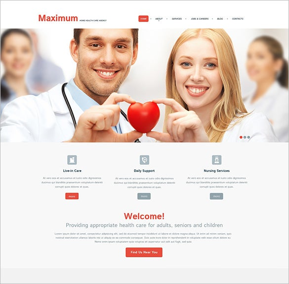 medical responsive html5 theme download