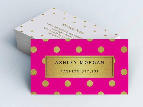 20 pink business cards free psd eps ai indesign word pdf pink double sided standard business cards cheaphphosting Choice Image