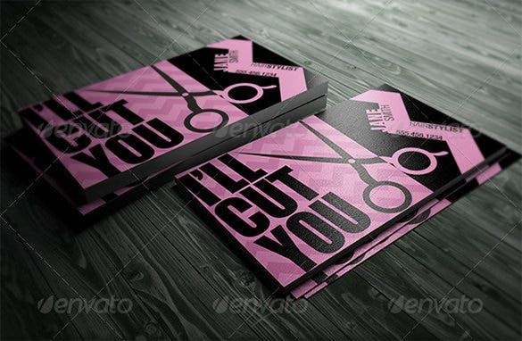20+ Pink Business Cards – Free PSD, EPS, AI, InDesign, Word, PDF ...