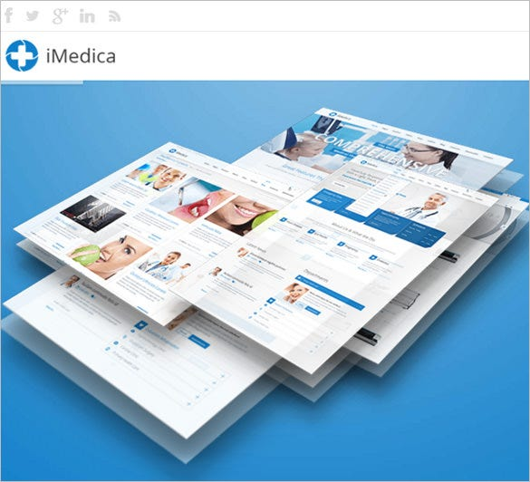 responsive medical health bootstrap template
