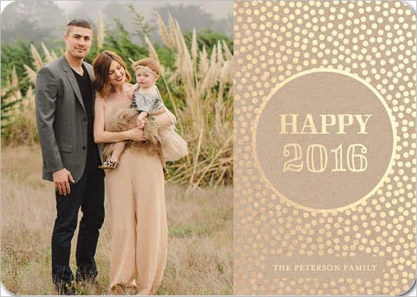 new years cards splendid year template download