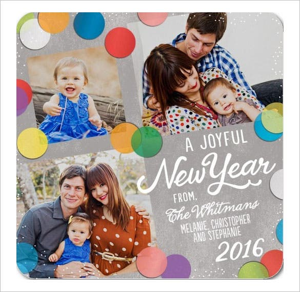 family new years cards joyfully download