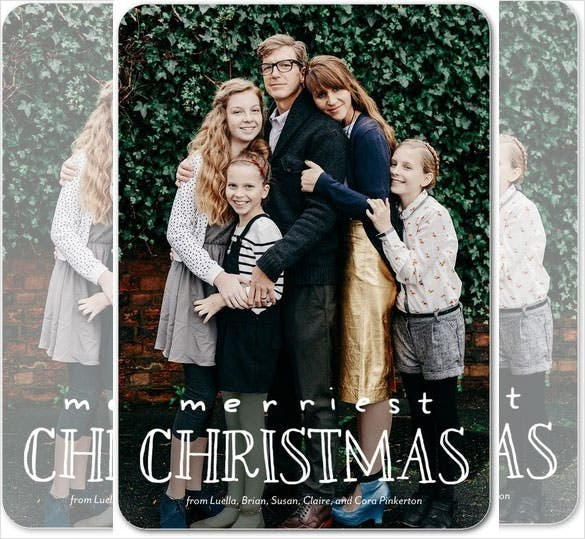 holiday photo christmas greeting cards happy expression