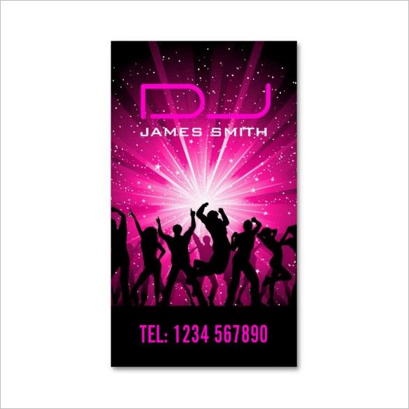 18  dj business cards  u2013 free psd  eps  ai  indesign  word