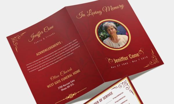 funeral invitation template1
