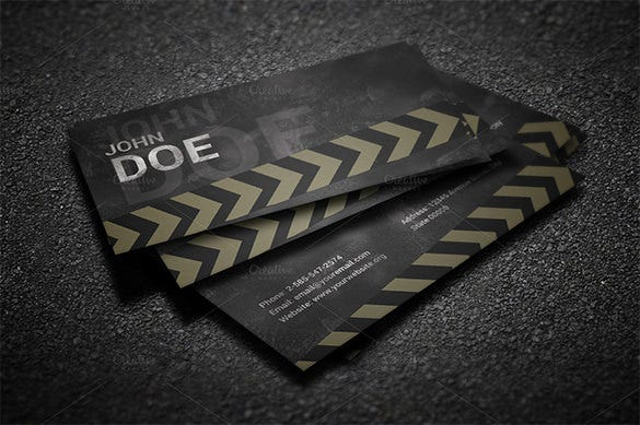 grunge business card template 6