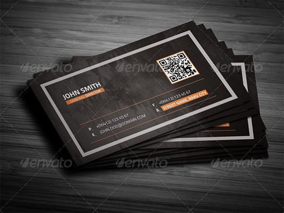 grunge business card photoshop psd