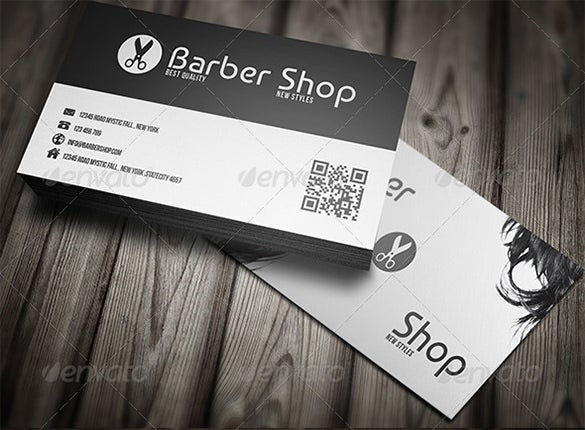 Barber Business Card 5