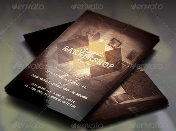20 barber business cards free psd eps ai indesign word pdf vintage barber business card template cheaphphosting Images