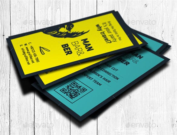 20+ Barber Business Cards u2013 Free PSD, EPS, AI, InDesign, Word, PDF ...
