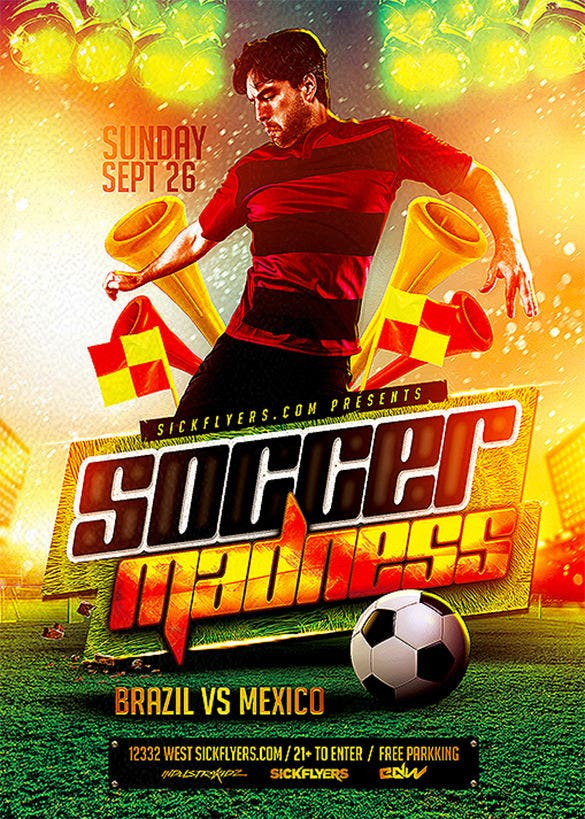 23 Football Flyer Templates Free Psd Eps Ai Indesign Word
