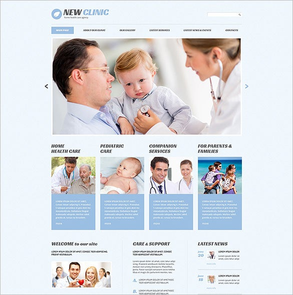 medical responsive wordpress theme