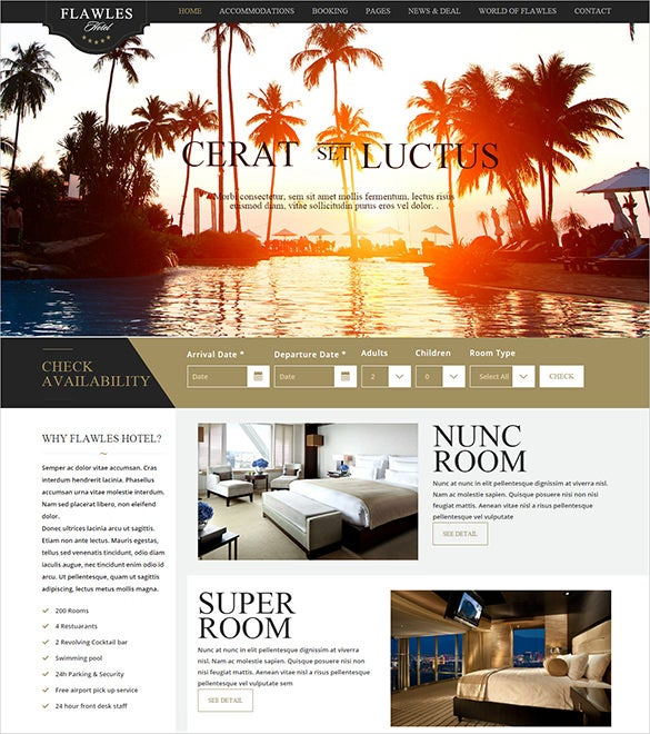 flawles travel drupal theme