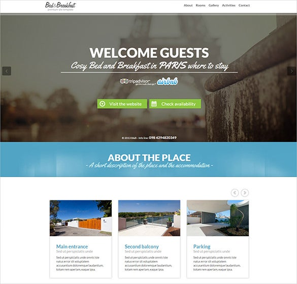 drupal themes travel agency