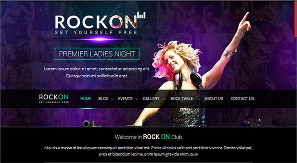 rockon responsive email template html format download