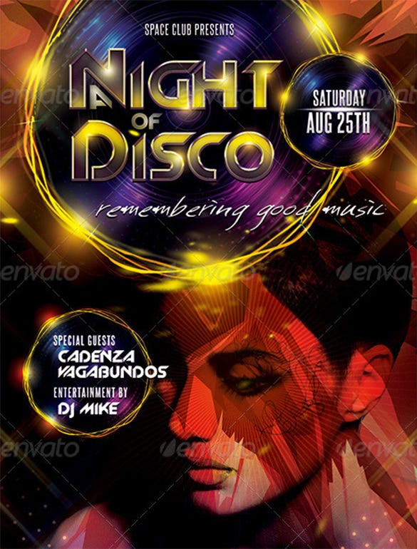 17 disco flyer templates psd eps free premium templates