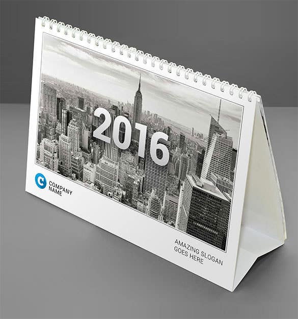 desk calendar 2016 cmyk colors print download