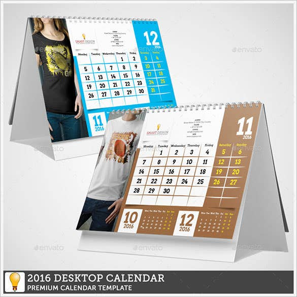 2016 calendar template 51 free word pdf psd eps ai for Computer planner software