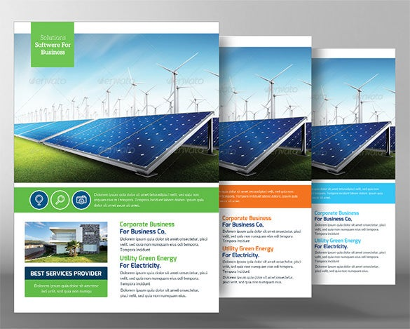 16+ Green Flyer Templates - Free Psd, Eps, Ai, Indesign, Word, Pdf