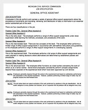 General-Office-Assistant-Job-Description-Free-PDF