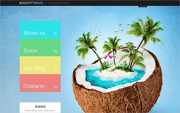 travel company joomla theme