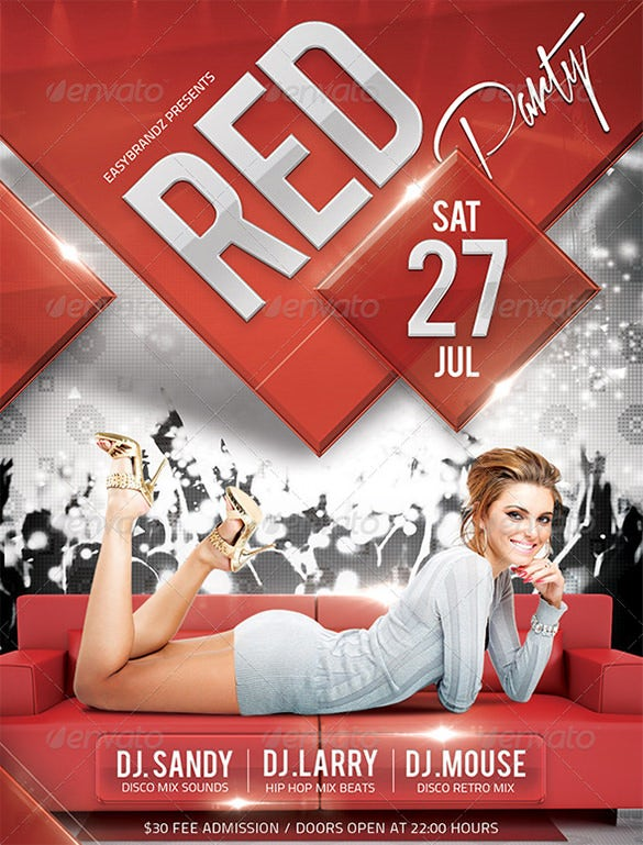 red flyer template