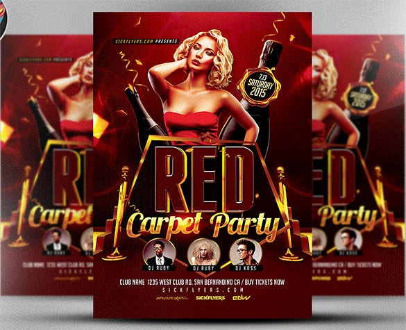 23+ Red Flyer Templates - Free PSD, EPS, AI, InDesign, Word, PDF ...