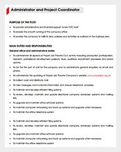 Administrator-Project-Coordinator-Job-Description-Free-PDF