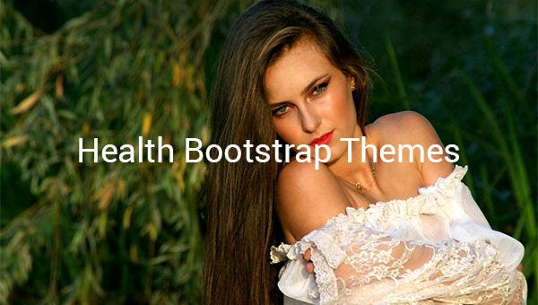 health bootstrap themes1