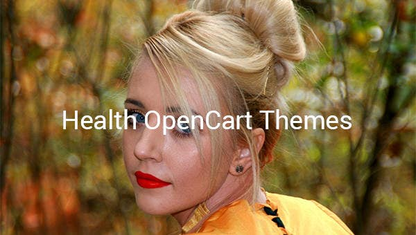 health opencart themes