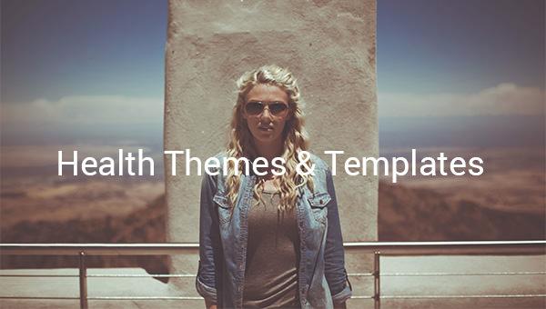 health themes templates.