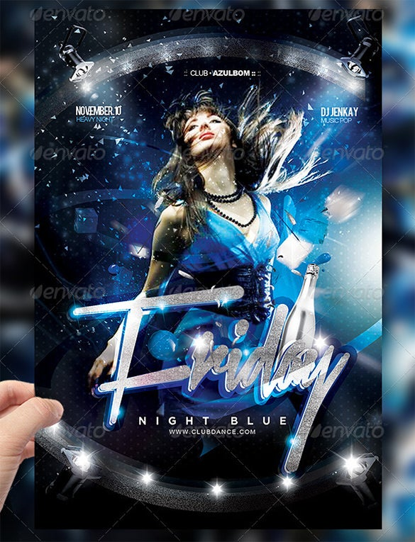 Blue Flyer Templates  Free Psd Eps Ai Indesign Word Pdf